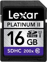 Lexar Platinum II 16GB